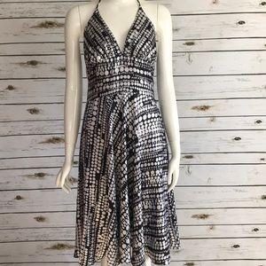 Dresses & Skirts - Halter black and white dress size 3/4